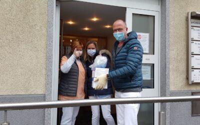 REGIONALE NETZ-INITIATIVE: CORONA-SCHUTZMATERIAL FÜR ARZTPRAXEN BESCHAFFT UND VERTEILT